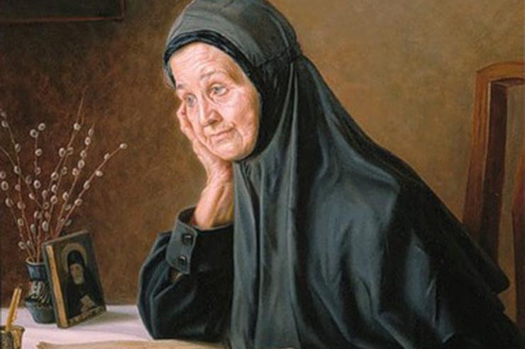 Матушка Макария. А.М.Шилов 1998 г.